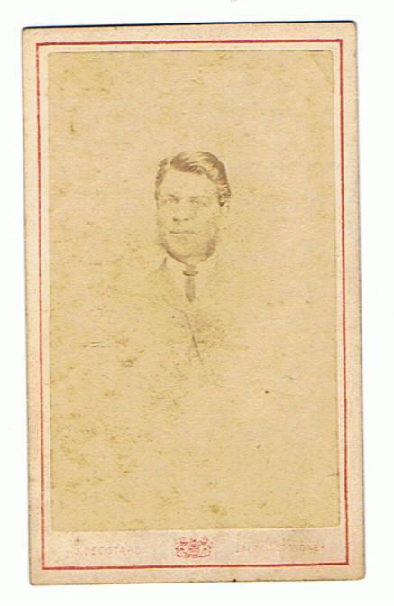 Unidentified c.1865 possibly John Reid b.1842