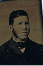 Unidentified c.1885 Possibly James Laughton b.1845 husband of Jane Reid